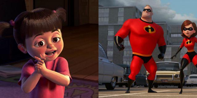 Pixar divulga crossover de Os Incríveis 2 e Monstros S.A.