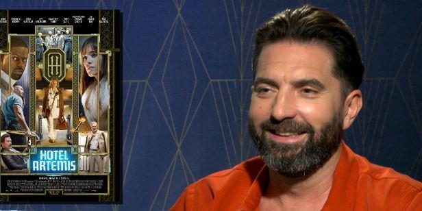 """""""Hotel Artemis mistura conto de fadas com um filme de Michael Mann"""", explica o diretor Drew Pearce (Exclusivo)"""