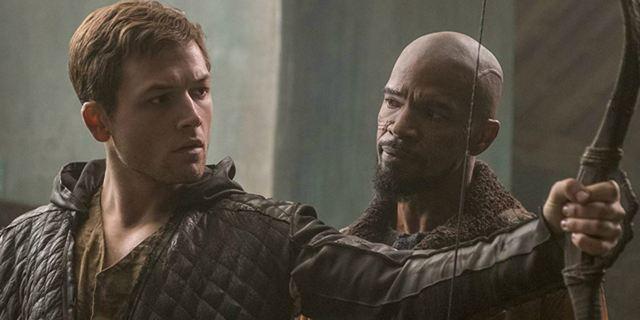 Robin Hood - A Origem: Novo trailer aposta no humor de Taron Egerton e Jamie Foxx