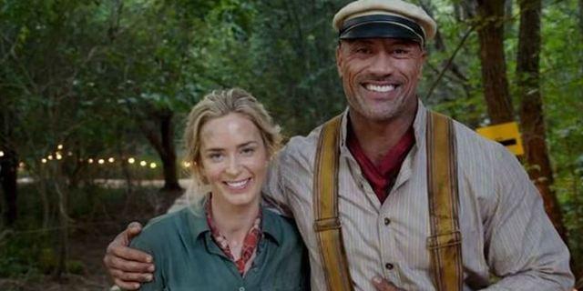 Dwayne Johnson teria recebido US$ 13 milhões a mais que Emily Blunt para filmar Jungle Cruise