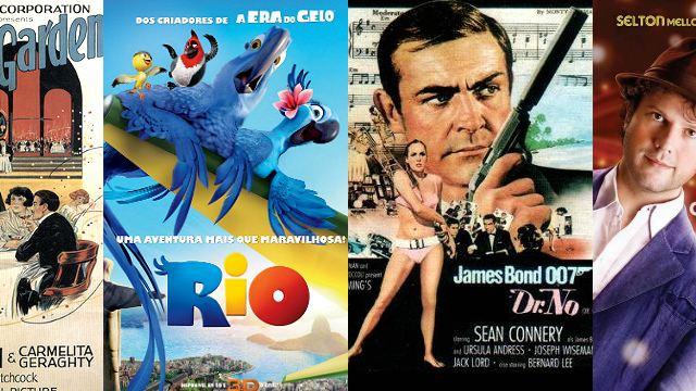 Festival do Rio: Cinema na praia tem Hitchcock e James Bond