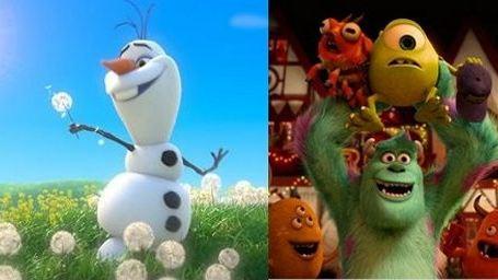 Frozen - Uma Aventura Congelante e Universidade Monstros lideram as indicações ao Annie Awards