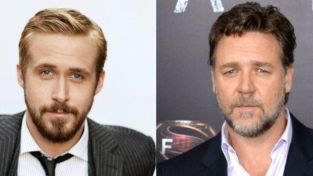 Russell Crowe e Ryan Gosling podem atuar juntos no novo filme do diretor de Homem de Ferro 3