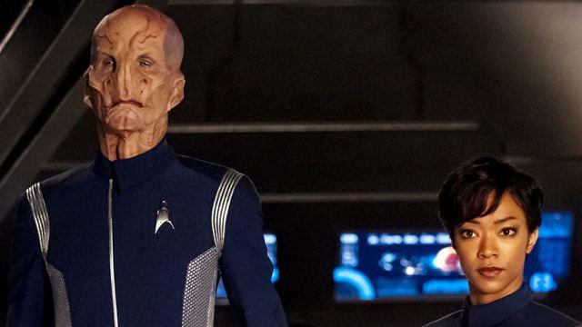 """Tenente Saru, o novo alienígena de Star Trek: Discovery, é """"o Spock da série"""""""