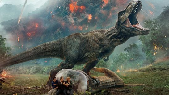 Jurassic World: Reino Ameaçado terá mais dinossauros do que todos os outros filmes da franquia juntos