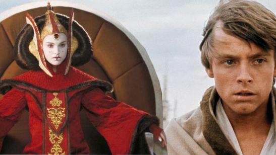 Natalie Portman e Mark Hamill nunca se conheceram pessoalmente, mesmo interpretando mãe e filho em Star Wars