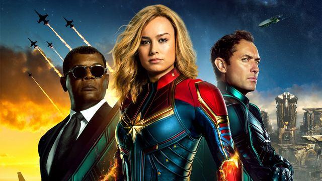 Capitã Marvel: Artista substitui personagens em cartaz por Goose e Coulson