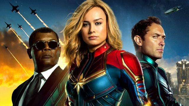 Bilheterias Brasil: Quebrando recordes, Capitã Marvel segue no topo