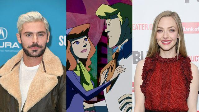 Zac Efron e Amanda Seyfried serão Fred e Daphne em nova animação de Scooby-Doo