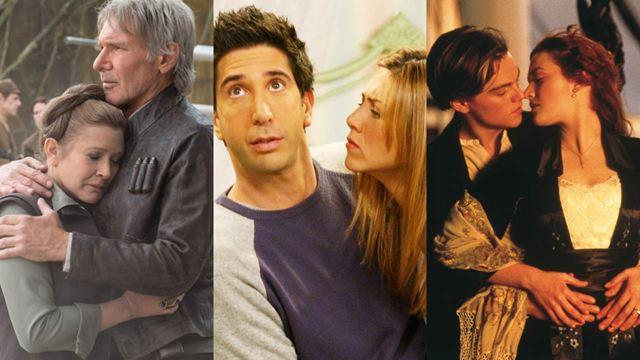 Casais icônicos das séries e cinema