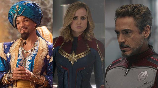 Com Aladdin, Disney garante os três primeiros lugares nas bilheterias americanas em 2019