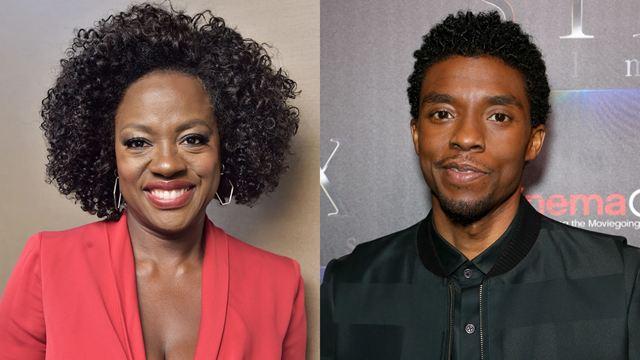 Viola Davis e Chadwick Boseman vão protagonizar filme da Netflix