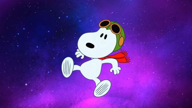 Snoopy vai para o espaço em série animada da Apple