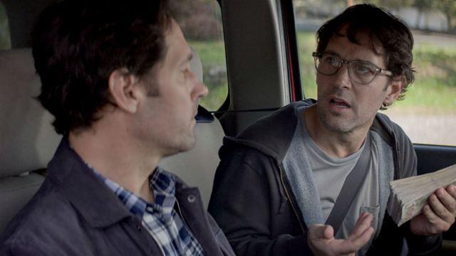 Paul Rudd aparece dose dupla nas fotos da nova comédia da Netflix