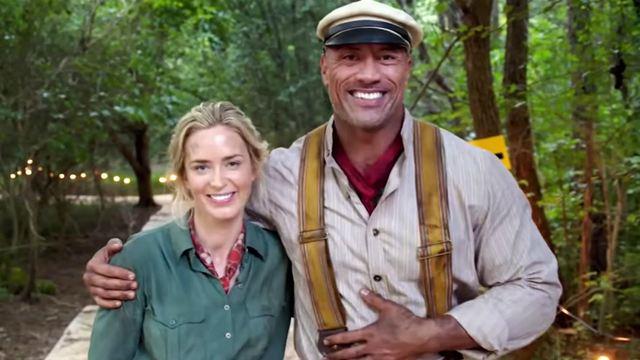 Jungle Cruise: Dwayne Johnson e Emily Blunt se aventuram na Amazônia em primeiro trailer do filme