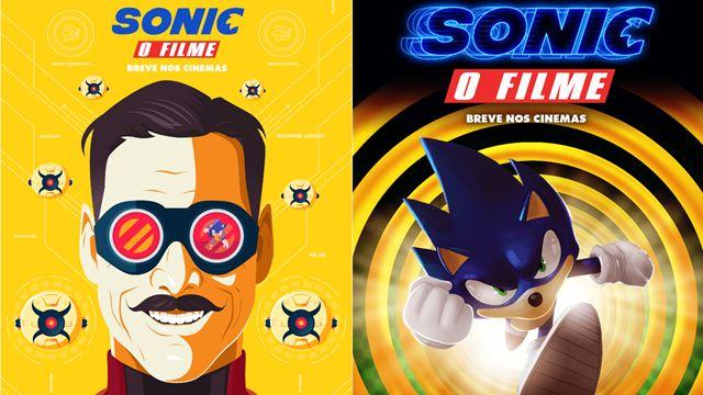 CCXP 2019: Sonic - O Filme ganha cartazes artísticos feitos por fãs