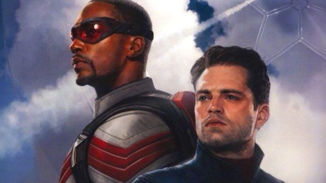 Falcão e Soldado Invernal: Imagens do set revelam personagem carregando escudo do Capitão América