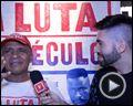 Foto : A Luta do Século Entrevista com Sérgio Machado, Luciano Todo Duro e Reginaldo Holyfield
