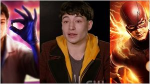Grant Gustin demonstra apoio a Ezra Miller no papel de Barry Allen nos cinemas