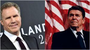 Will Ferrell nega envolvimento em filme sobre Ronald Reagan