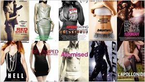 As mulheres sem cabeça de Hollywood: Blog denuncia objetificação feminina em cartazes