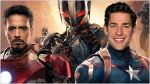 John Krasinski diz que perdeu papel de Capitão América por causa de Chris Hemsworth