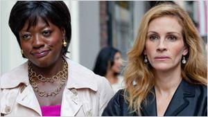 Viola Davis e Julia Roberts vão estrelar drama sobre preconceito racial