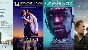 Oscar 2017: 60% dos norte-americanos não conseguem citar uma produção indicada a melhor filme