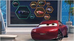 Kerry Washington, Nathan Fillion e Lea DeLaria entram para o elenco de dubladores de Carros 3. Confira o novo cartaz!