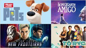 Telecine On Demand: Confira agora Pets - A Vida Secreta dos Bichos, Star Trek: Sem Fronteiras, O Bom Gigante Amigo e outros filmes