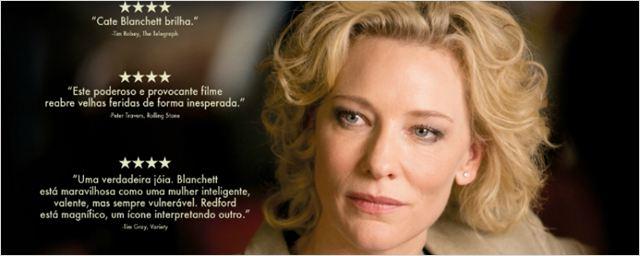 Exclusivo: Cate Blanchett e Robert Redford no cartaz nacional de Conspiração e Poder