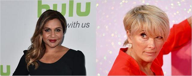 Mindy Kaling e Emma Thompson vão estrelar filme sobre os agitados bastidores de um talk show