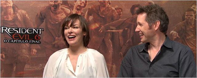 Milla Jovovich e Paul W.S. Anderson falam sobre tristeza em deixar o universo de Resident Evil (Entrevista exclusiva)