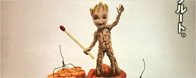 Baby Groot está pronto para explodir tudo em novo cartaz de Guardiões da Galáxia Vol. 2