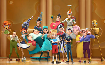 meet the robinsons sprint commercial actors