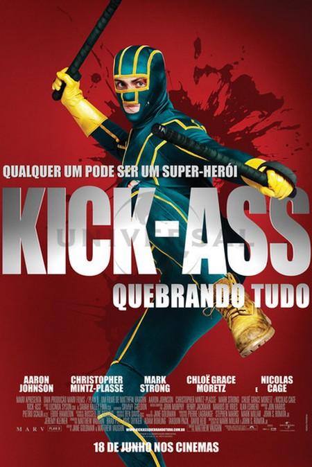 Kick Ass Quebrando Tudo Elenco Atores Equipe Tcnica