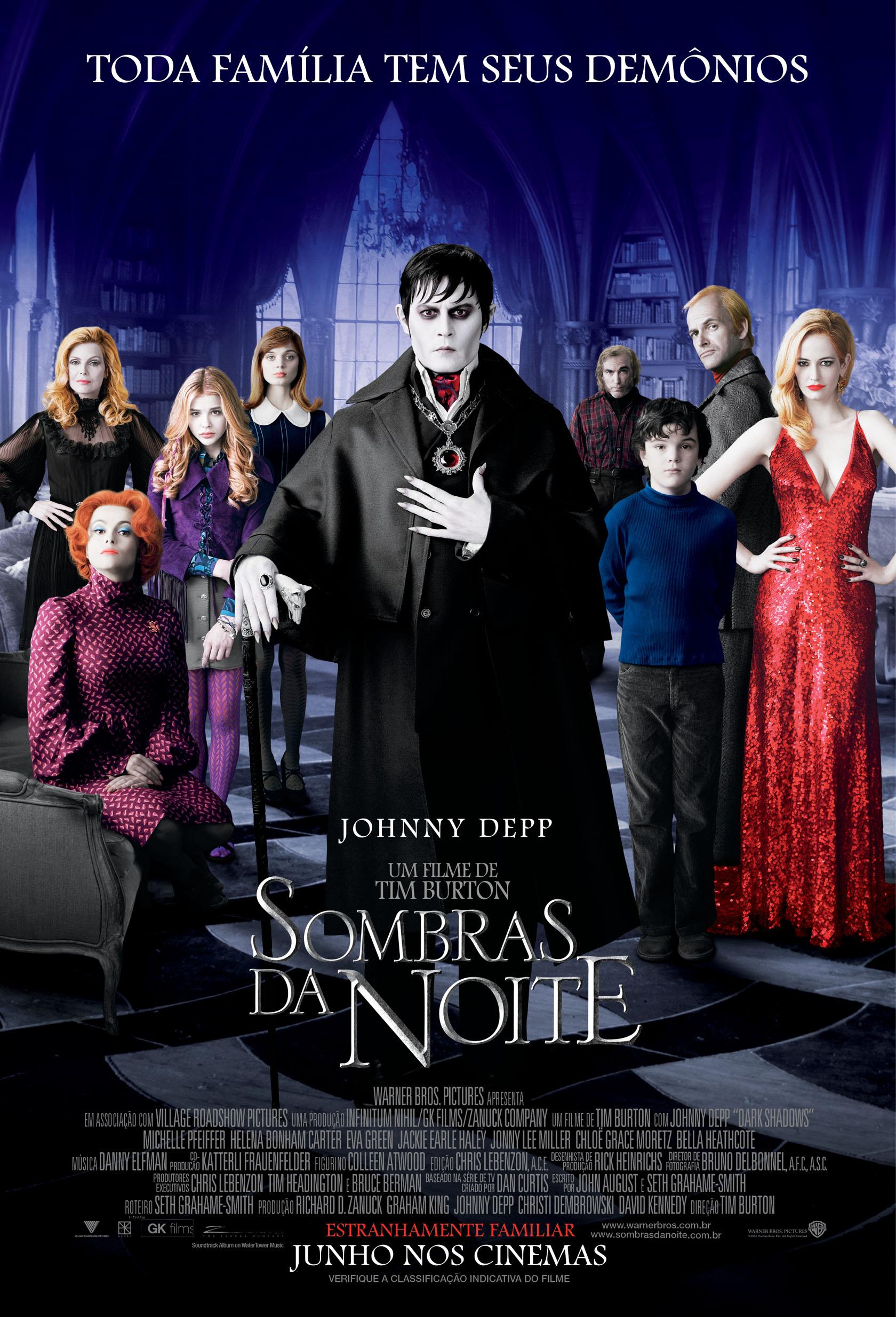 Sombras Da Noite Filme 2012 Adorocinema