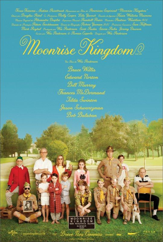 Resultado de imagem para Moonrise Kingdom