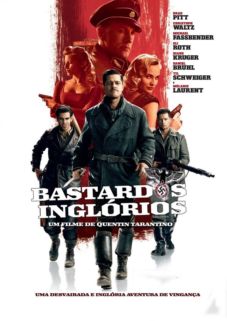 Bastardos Inglórios (2009) BDRip BluRay 1080p Download Torrent Dublado