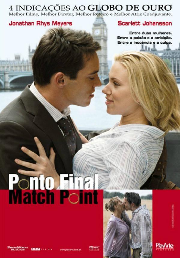 ponto final match point filme 2005 adorocinema
