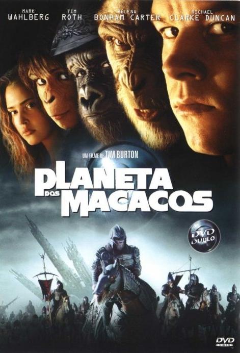 Resultado de imagem para planeta dos macacos 2001