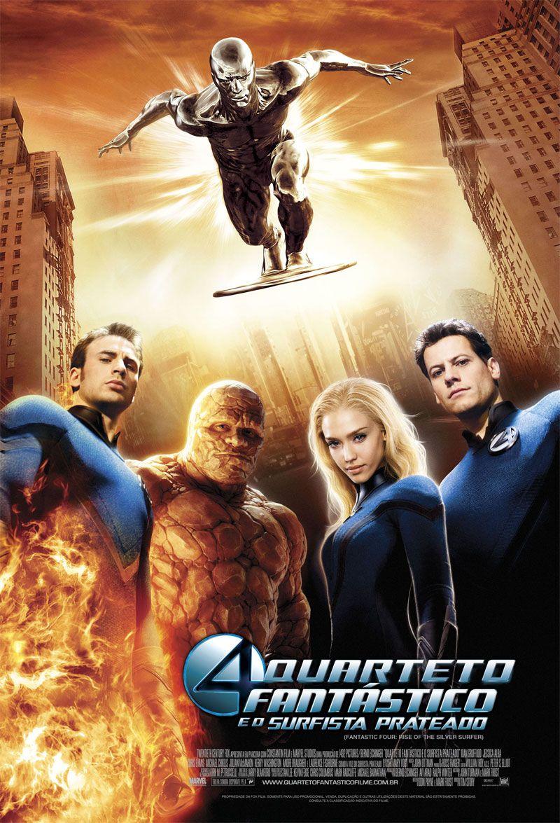 Quarteto Fantástico e o Surfista Prateado - Filme 2007