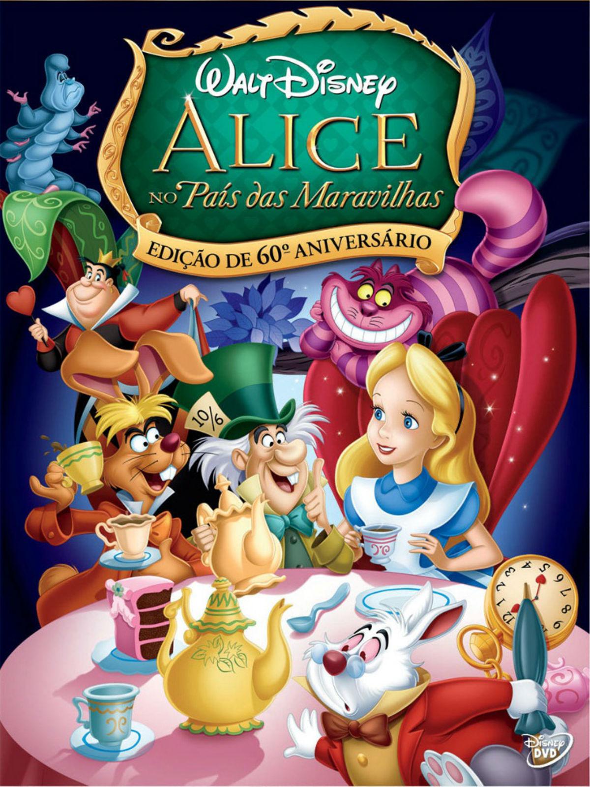 Resultado de imagem para Alice no País das Maravilhas (1951)