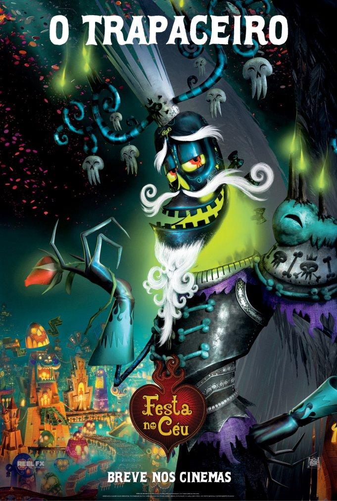 Festa no Céu poster - Poster 5 - AdoroCinema
