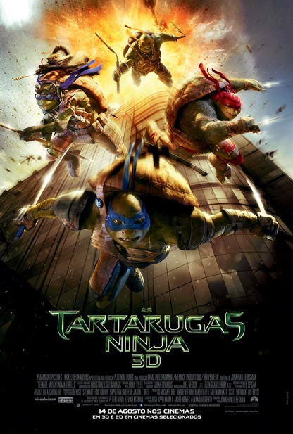 As Tartarugas Ninja Torrent BluRay Dublado - 720P + 1080P + 3D - 2014