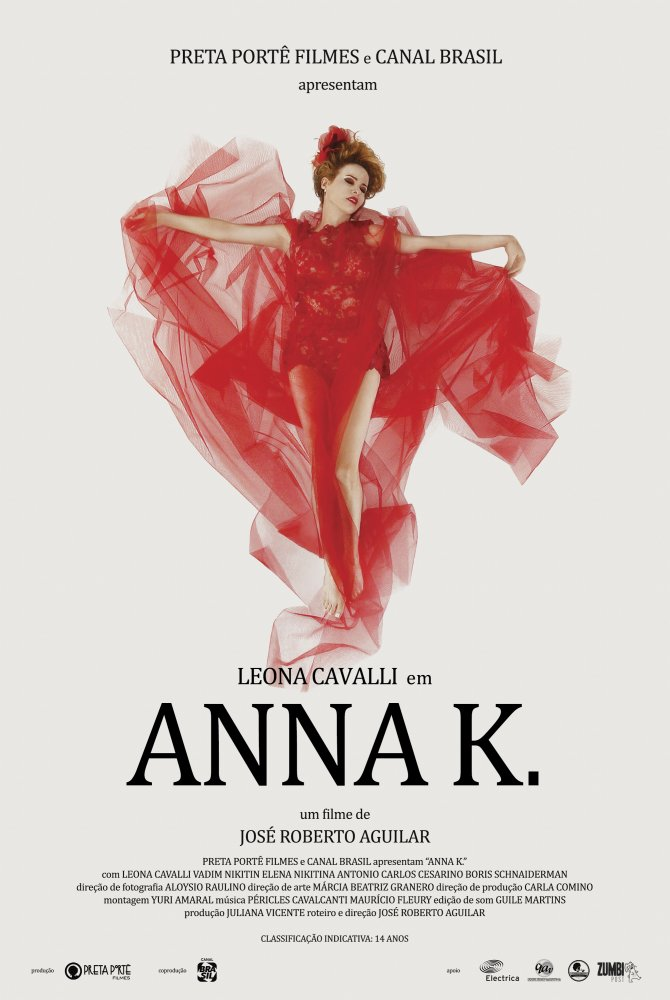 Resultado de imagem para anna k filme brasileiro