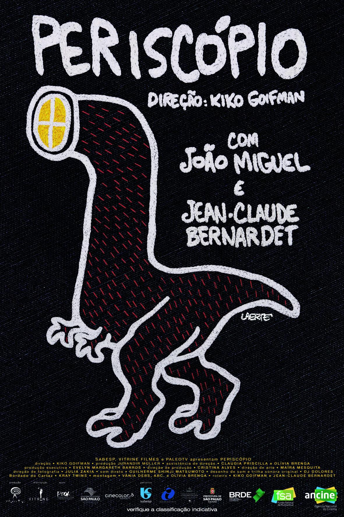 Resultado de imagem para Jean-Claude Bernardet filme  Periscópio