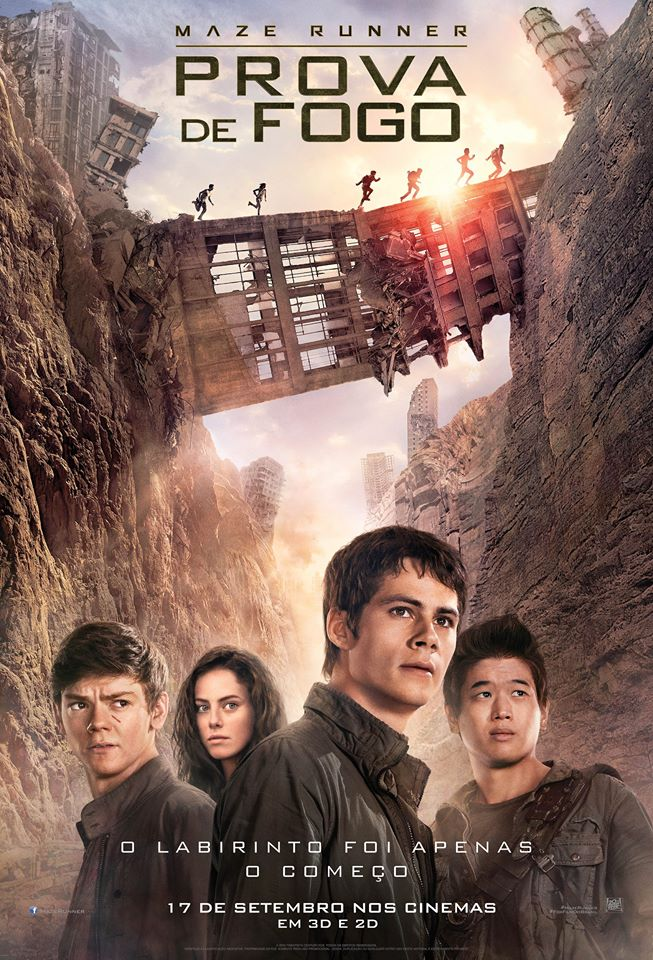 Maze Runner: Prova de Fogo 2015 BRRip Blu-Ray 720p/1080p Dublado Torrent