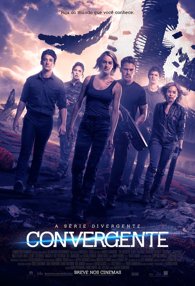A Série Divergente: Convergente (2016) Blu-Ray 720p / 1080p 5.1 CH Dublado