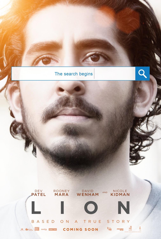 Resultado de imagem para lion filme 2016 poster